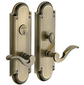 Baldwin 6951.DBLC Estate Stanford Double Cylinder Mortise Entry Set
