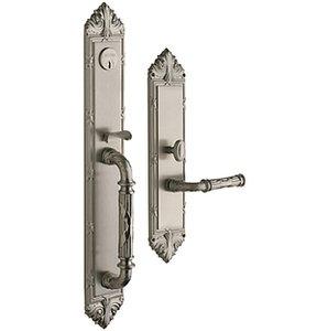 Baldwin 6952.RDBL Estate Edinburgh Double Cylinder Mortise Handleset for Right Handed Doors