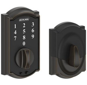 Schlage BE375 CAM Camelot Touch Screen Electronic Deadbolt