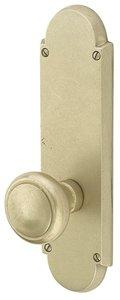 Emtek 7757 9-5/16 Inch Height Sandcast Bronze #5 Sideplate Dummy Set