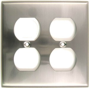 Rusticware 786 Double Duplex Switch Plate