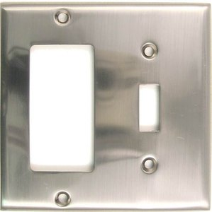 Rusticware 788 Single Rocker/Single Toggle Switch Plate