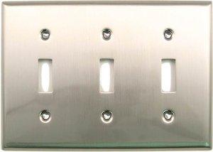 Rusticware 789 Triple Toggle Switch Plate