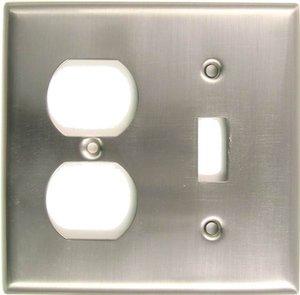 Rusticware 791 Single Toggle/Single Duplex Switch Plate