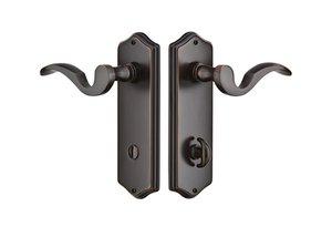 Emtek 8022 Colonial Sideplate Thumbturn Privacy Set