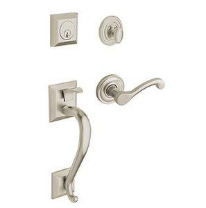 Baldwin 85320.LDBL Estate Madison Double Cylinder Handleset for Left Handed Doors