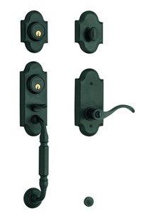 Baldwin 85365.2LFD Estate Ashton Full Dummy Two Point Handleset for Left Handed Doors