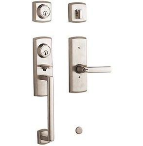 Baldwin 85385.2LFD Estate Soho Full Dummy Two Point Handleset for Left Handed Doors