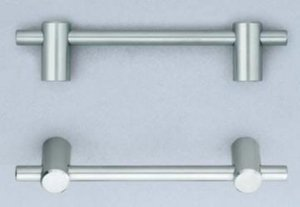 Omnia 9457/192 9-1/8 Inch Center to Center Stainless Steel Pull
