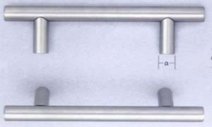 Omnia 9465/192 7-5/8 Inch Center to Center Stainless Steel Pull
