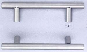 Omnia 9465/640 25-3/16 Inch Center to Center Stainless Steel Pull