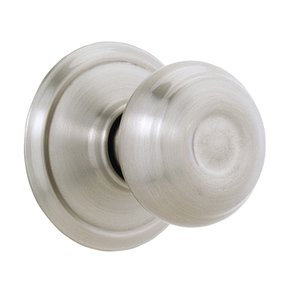Schlage A25D GEO Georgian Exit Only Door Knob with Exterior Blank Plate