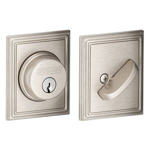 Schlage B60 ADD Addison Single Cylinder Grade 1 Deadbolt