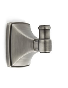 Amerock BH26502AS Antique Silver Robe Hook from the Clarendon Collection