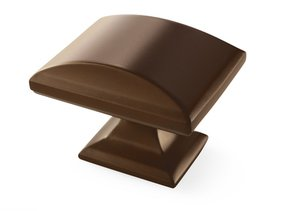 """Amerock BP29368CBZ Caramel Bronze 1 1/2"""" Oversized Knob from the Candler Collection"""