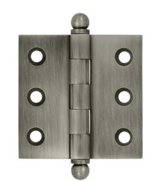 Deltana CH2020U Solid Brass 2 Inch x 2 Inch Full Mortise Cabinet Hinge (Sold in Pairs)