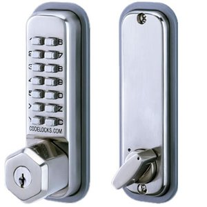 Codelocks CL210K Mechanical Keypad Deadbolt with Key Override