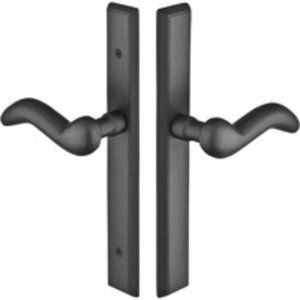 Emtek 1152 Sandcast Rectangular 11 Inch Non-Keyed Passage Multi Point Lock Trim