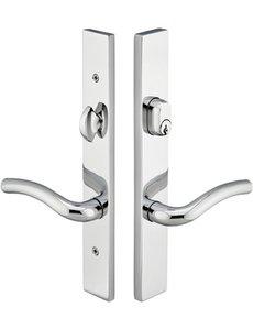 Emtek 13B1 Modern Brass 10 Inch Keyed Multi Point Lock Trim