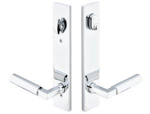 Emtek 12B1 Modern Brass 10 Inch Keyed Multi Point Lock Trim