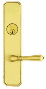 Omnia 11752A Single Cylinder Mortise Entry Set