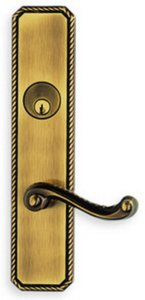 Omnia D24570AC Double Cylinder Deadbolt Entry Set for 3-5/8 Inch Door Prep