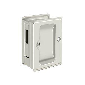 Deltana SDAR325U Solid Brass Heavy Duty Pocket Door Lock Reciever
