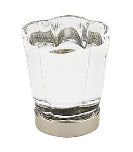 Emtek 86565 Crystal Forza Cabinet Knob 1-1/4 Inch Diameter