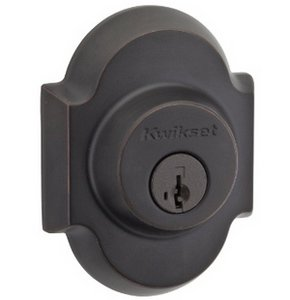 Kwikset 980AUD SMT Austin Single Cylinder Arched Deadbolt with SmartKey