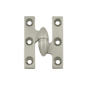 Deltana OK2015-R 2 Inch x 1-1/2 Inch Solid Brass Olive Knuckle Hinge - Right Handed
