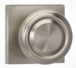 Omnia 565SQSD Single Dummy Knob with Square Rosette From the Prodigy Collection