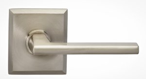 Omnia 925RTSD Single Dummy Lever with Rectangular Rosette From the Prodigy Collection