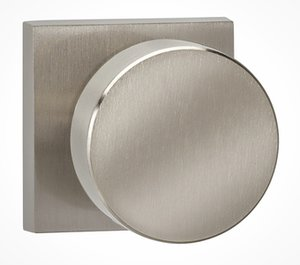 Omnia 935SQSD Single Dummy Knob with Square Rosette From the Prodigy Collection