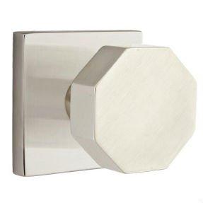 Emtek Octagon 51 Brass Modern Passage Knobset