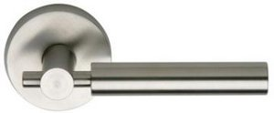 Omnia 32PR Stainless Steel Privacy Leverset