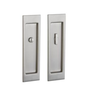 Baldwin PD005.PRIV Large Santa Monica Privacy Pocket Door Mortise Lock