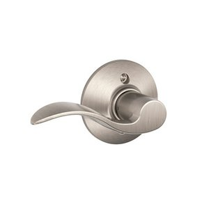 Schlage F170ACC RH Accent Single Dummy Right Handed Lever