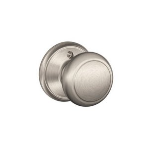 Schlage F170AND Andover Single Dummy Knob