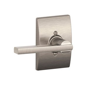 Schlage F170LAT/CEN Latitude Single Dummy Lever with Century Decorative Rosette
