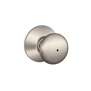 Schlage F40PLY Plymouth Privacy Knobset
