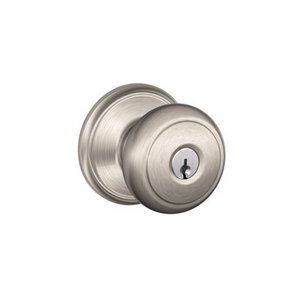 Schlage F51AND Andover Keyed Entry Knobset