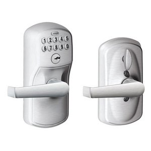 Schlage FE595 PLY 626 ELA Plymouth keypad lever