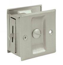Deltana SDL25U Solid Brass Privacy Pocket Door Lock
