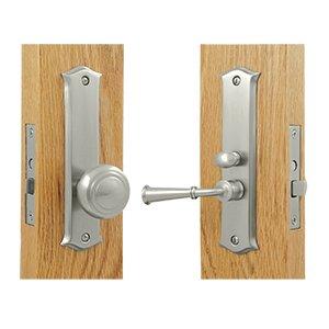 Deltana SDL688U Solid Brass Classic Mortise Screen Door Lock