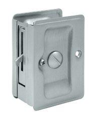 Deltana SDLA325U Solid Brass Heavy Duty Privacy Pocket Door Lock