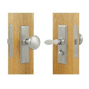 Deltana SDML334U Solid Brass Rectangular Mortise Screen Door Lock
