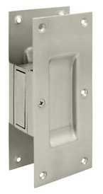 Deltana SDP60U Solid Brass Passage Pocket Door Lock