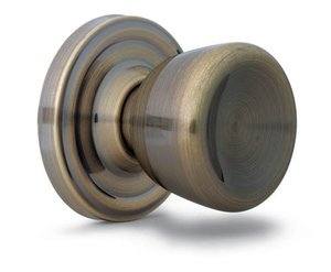 Weslock 0600 Sonic Traditionale Collection Passage Knobset