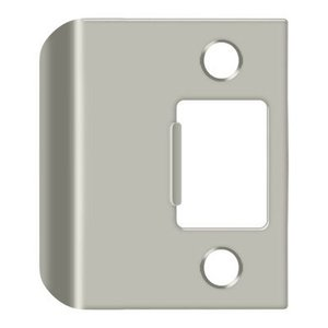 Deltana SPE200 Extended Lip Strike Plate 2 Inches Overall