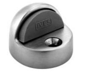 Ives FS438 1-3/8 Inch Brass Floor Dome Door Stop